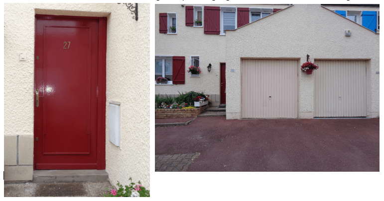 Pose d 39 une porte d 39 entr e et d 39 une porte de garage cergy for Pose d une porte de garage basculante