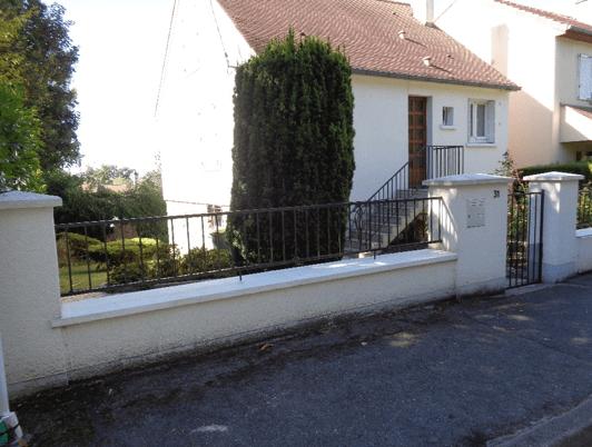 Changement de la cl ture portail et portillon le chesnay for Cloture et portillon